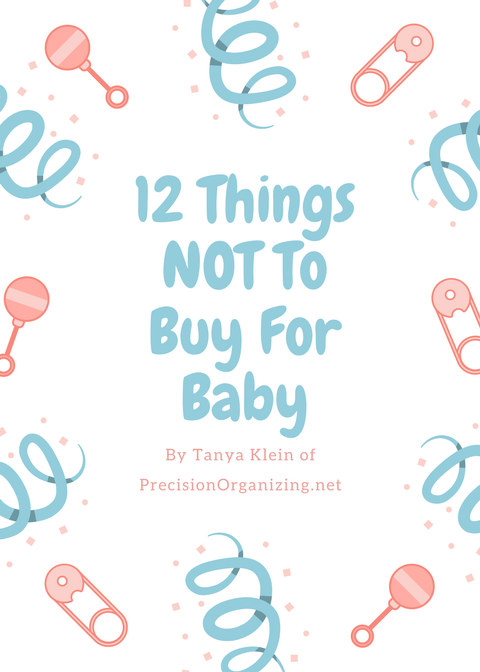 12 Things NOT To Buy For Baby by Tanya Klein | Book Cover